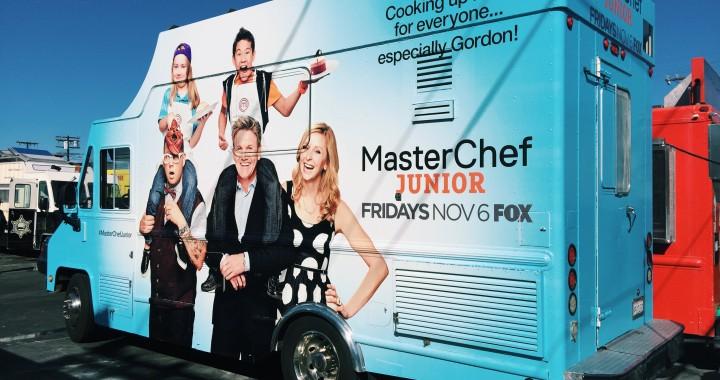 master chef jr food truck