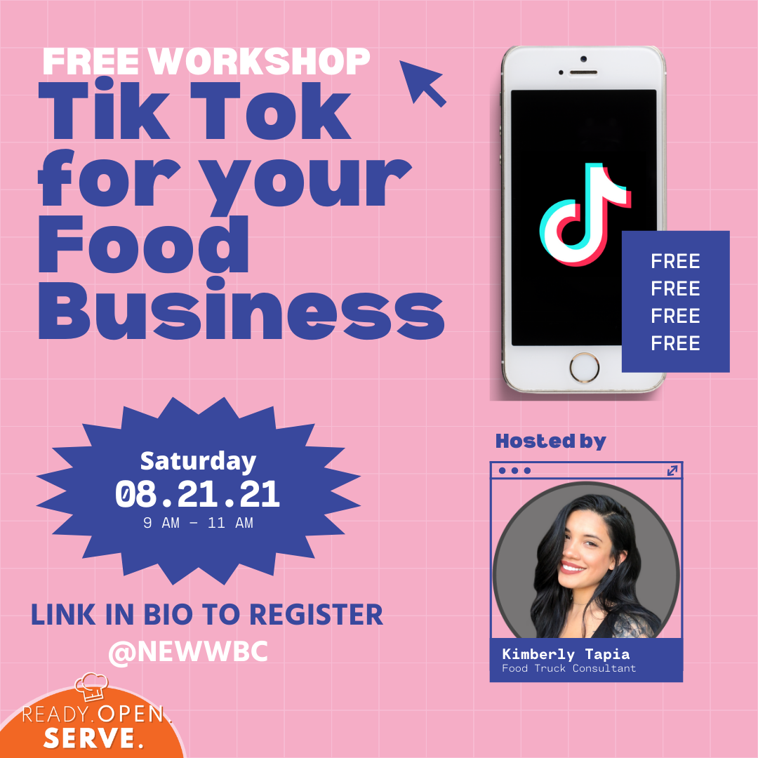 Tik tok for your food business and food truck