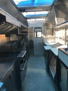 3 fryer truck - kitchen view 2