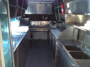 22ft Food Truck - Route Layout - back view