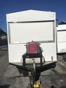 Small Enclosed Trailer - Front