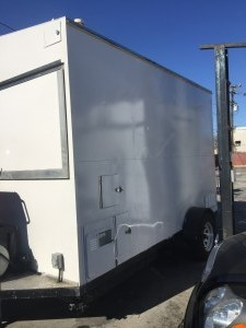 Small Enclosed Trailer - Driver Side